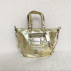 NWT Coach Limited Edition Star Leather Conv. Tote